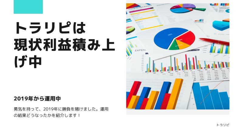 まとめ:トラリピを30万円でやってみた!現状は利益が積み上がっています。
